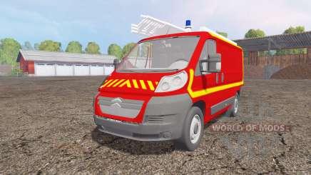Citroen Jumper VTU para Farming Simulator 2015