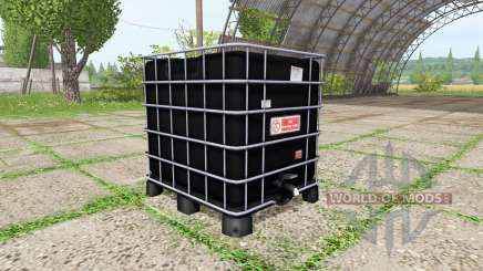 AUER Packaging IBC container water para Farming Simulator 2017