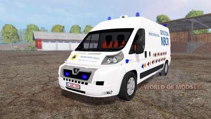 Peugeot Boxer NBCR para Farming Simulator 2015
