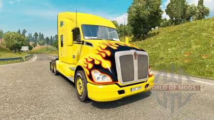 Kenworth T680 v1.4 para Euro Truck Simulator 2