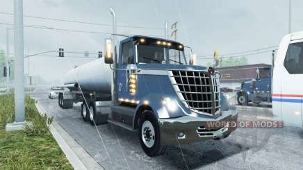 International LoneStar traffic para American Truck Simulator
