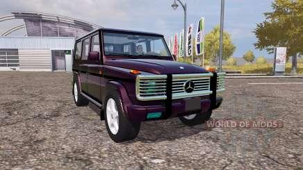 Mercedes-Benz G500 (W463) para Farming Simulator 2013