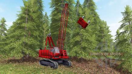 Skyline yarder para Farming Simulator 2017