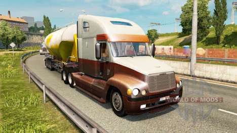 American truck traffic pack v1.3.1 para Euro Truck Simulator 2