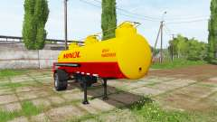 Fuel tank semitrailer