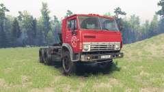 KamAZ 5410 para Spin Tires