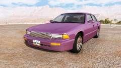 Gavril Grand Marshall V6 road cruiser v1.2 para BeamNG Drive