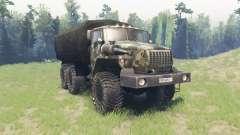 Ural 4320-10 para Spin Tires