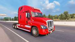 Скин Estados Logística на Freightliner Cascadia para American Truck Simulator