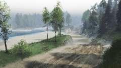 A poeira de estradas