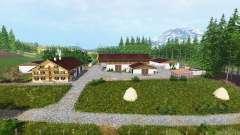 Dois rios v1.1 para Farming Simulator 2015