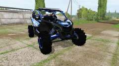 Can-Am Maverick X3 police