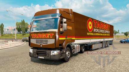 Painted truck traffic pack v2.2.2 para Euro Truck Simulator 2