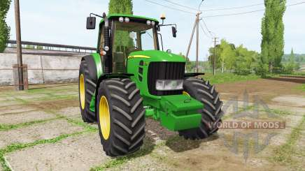 John Deere 7530 v2.5 para Farming Simulator 2017