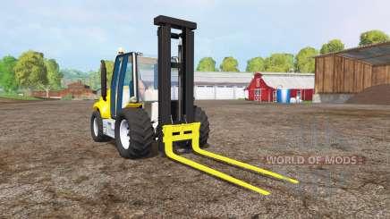 Caterpillar forklift para Farming Simulator 2015