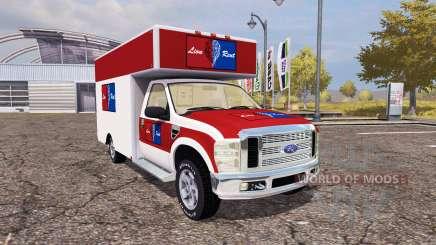 Ford F-250 cargo para Farming Simulator 2013