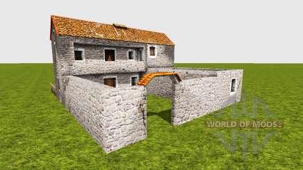 Medieval greek house para Farming Simulator 2015