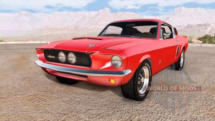 Ford Mustang Shelby GT500 para BeamNG Drive