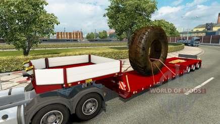 Doll Vario with big wheel v1.1 para Euro Truck Simulator 2