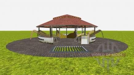 Feed stores around v1.2 para Farming Simulator 2015