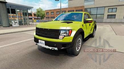 Ford F-150 SVT Raptor v1.6 para Euro Truck Simulator 2