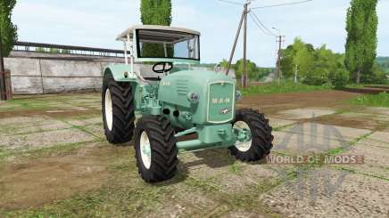 MAN 4p1 1960 v2.1 para Farming Simulator 2017