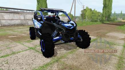 Can-Am Maverick X3 police para Farming Simulator 2017