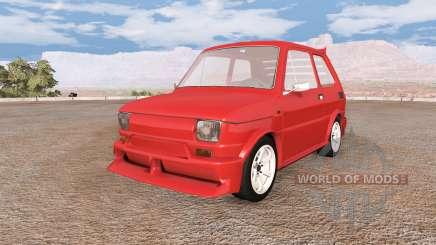 Fiat 126p v8.0 para BeamNG Drive