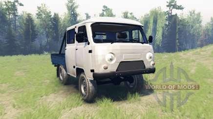 UAZ 390945 Agricultor para Spin Tires