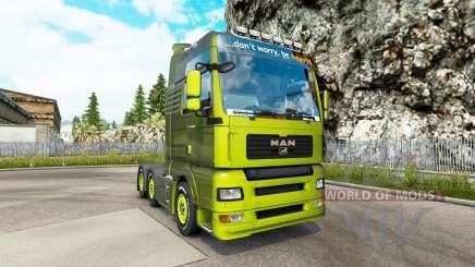 MAN TGA v1.2 para Euro Truck Simulator 2