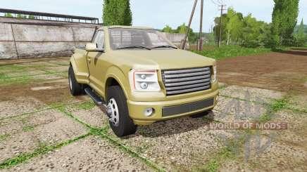 Lizard Pickup TT single cab dually para Farming Simulator 2017