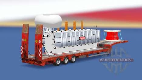 High Voltage Transformer v1.1 para Euro Truck Simulator 2