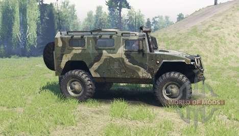 GAZ Tigre 2330 para Spin Tires