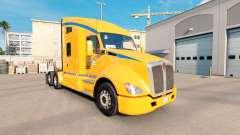 Pele AutoLineas América no trator Kenworth T680 para American Truck Simulator