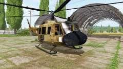 Bell UH-1D skycrane para Farming Simulator 2017
