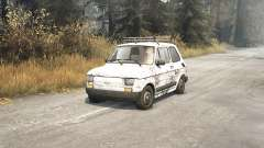 Fiat 126p v1.1 para Spin Tires
