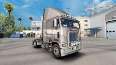 Скин de Primeira classe metalizado на Freightliner FLB para American Truck Simulator