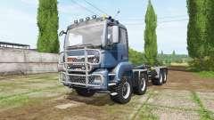MAN TGS 8x8 hooklift v4.0 para Farming Simulator 2017