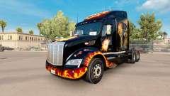 Pele de Vida nos uma aposta no trator Peterbilt 579 para American Truck Simulator