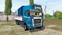 Scania R730 tandem v1.2 para Farming Simulator 2017