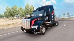 Pele M. e.Um de Caminhões no caminhão Peterbilt