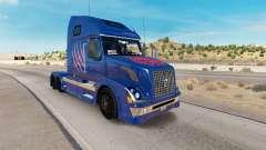 Arizona Wildcats pele para a Volvo caminhões VNL