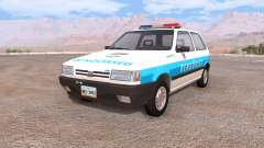 Fiat Uno hungarian police para BeamNG Drive