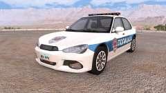 Hirochi Sunburst polícia v1.8 para BeamNG Drive
