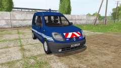 Renault Kangoo Gendarmerie para Farming Simulator 2017