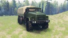 KrAZ 260 v1.1 para Spin Tires
