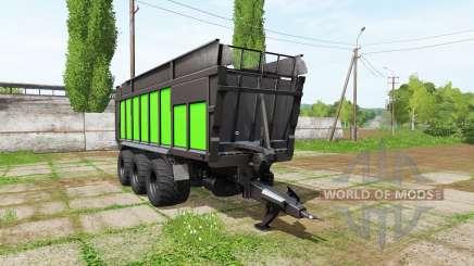 JOSKIN DRAKKAR 8600 black and green para Farming Simulator 2017