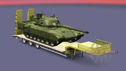 Military cargo pack v1.8 para Euro Truck Simulator 2