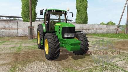 John Deere 7530 Premium v3.0 para Farming Simulator 2017