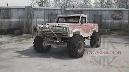 Jeep truggy para MudRunner